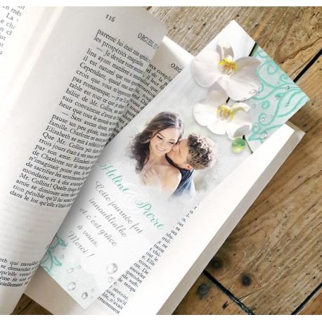 Remerciement mariage ORCHIDEES ZEN
