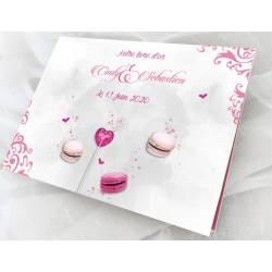 Livre d'or mariage gourmand CANDY BAR