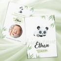 Faire-part KIM mon panda