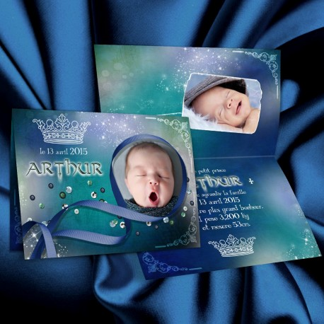 Faire-part naissance ARTHUR