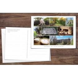 Carte postale ou carte de voeux